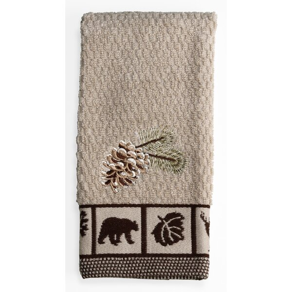 Natures Trail 100% Cotton Fingertip Towel by Saturday Knight, LTD